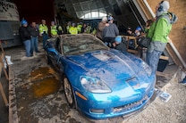 2009 Chevrolet Corvette ZR1 Rescue From Corvette Sinkhole 5