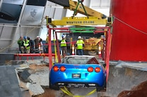 2009 Chevrolet Corvette ZR1 Rescue From Corvette Sinkhole 8