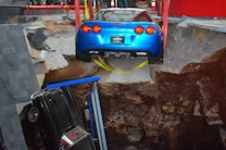 2009 Chevrolet Corvette ZR1 Rescue With 1962 Chevrolet Corvette From Corvette Sinkhole 1