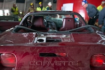 1993 Chevrolet Corvette 40th Anniversary  Rescue From Corvette Sinkhole 1