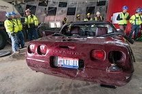 1993 Chevrolet Corvette 40th Anniversary  Rescue From Corvette Sinkhole 4