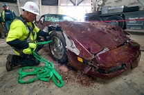1993 Chevrolet Corvette 40th Anniversary  Rescue From Corvette Sinkhole 11