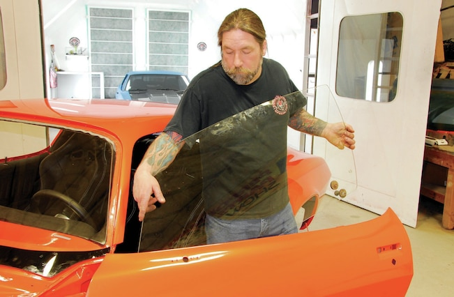 1971 Chevrolet Camaro Project Orange Krate - Glass and ...