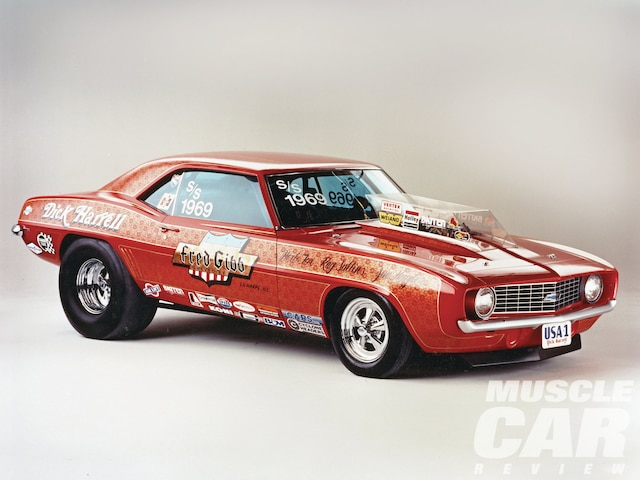 Fred Gibb Number One Copo Camaro Zl1 By Dick Harrell