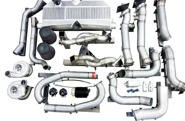 Granatelli Twin Turbo Parts
