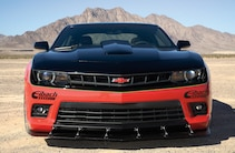 2014 Chevrolet Camaro Ss Red Black Front Grille