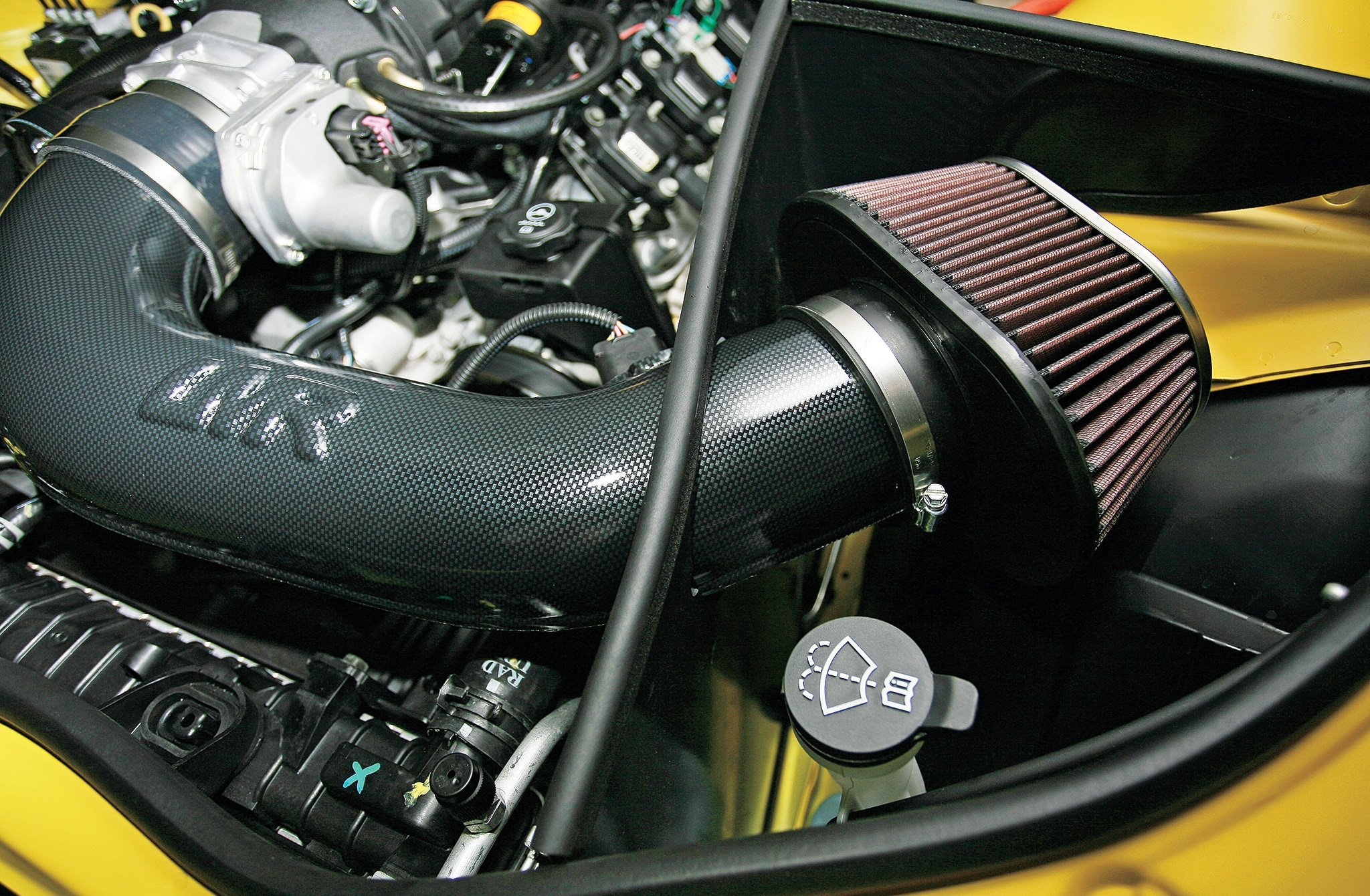 Chevrolet Camaro Twisted Slayer Package Intake