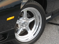 1992 Chevrolet Camaro Wheel Closeup