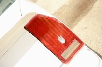 1987 Chevy Monte Carlo Ss Taillight Closeup
