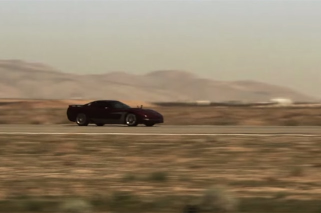 1998 Chevrolet Corvette Mojave Mile Quest For 200 Mph Youtube Video