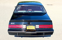 1987 Buick Grand National Rear View