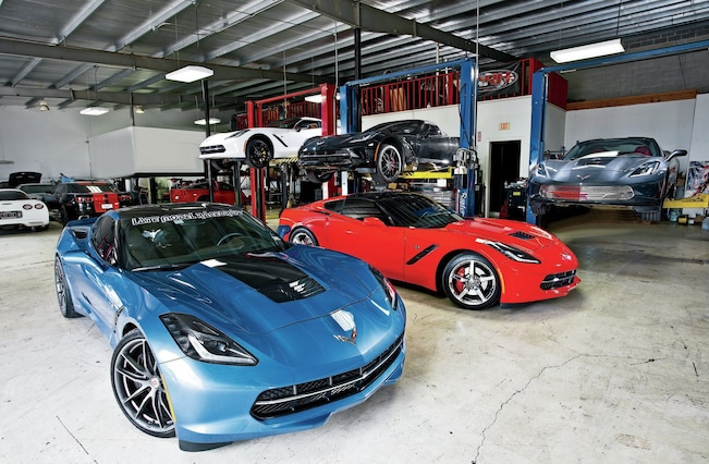 Chevrolet Corvettes Garage