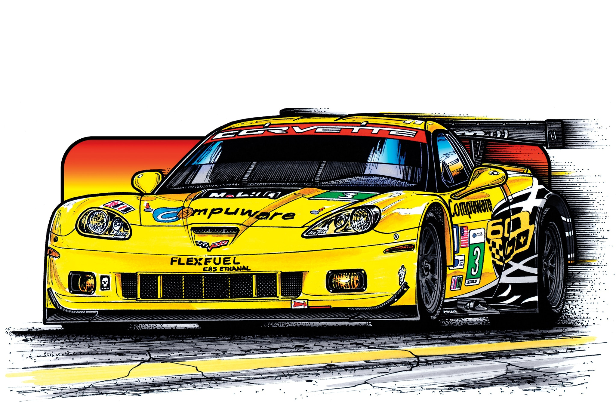 2012-2013 C6.R ZR1 - Corvette Racing's Finished C6.R Racer