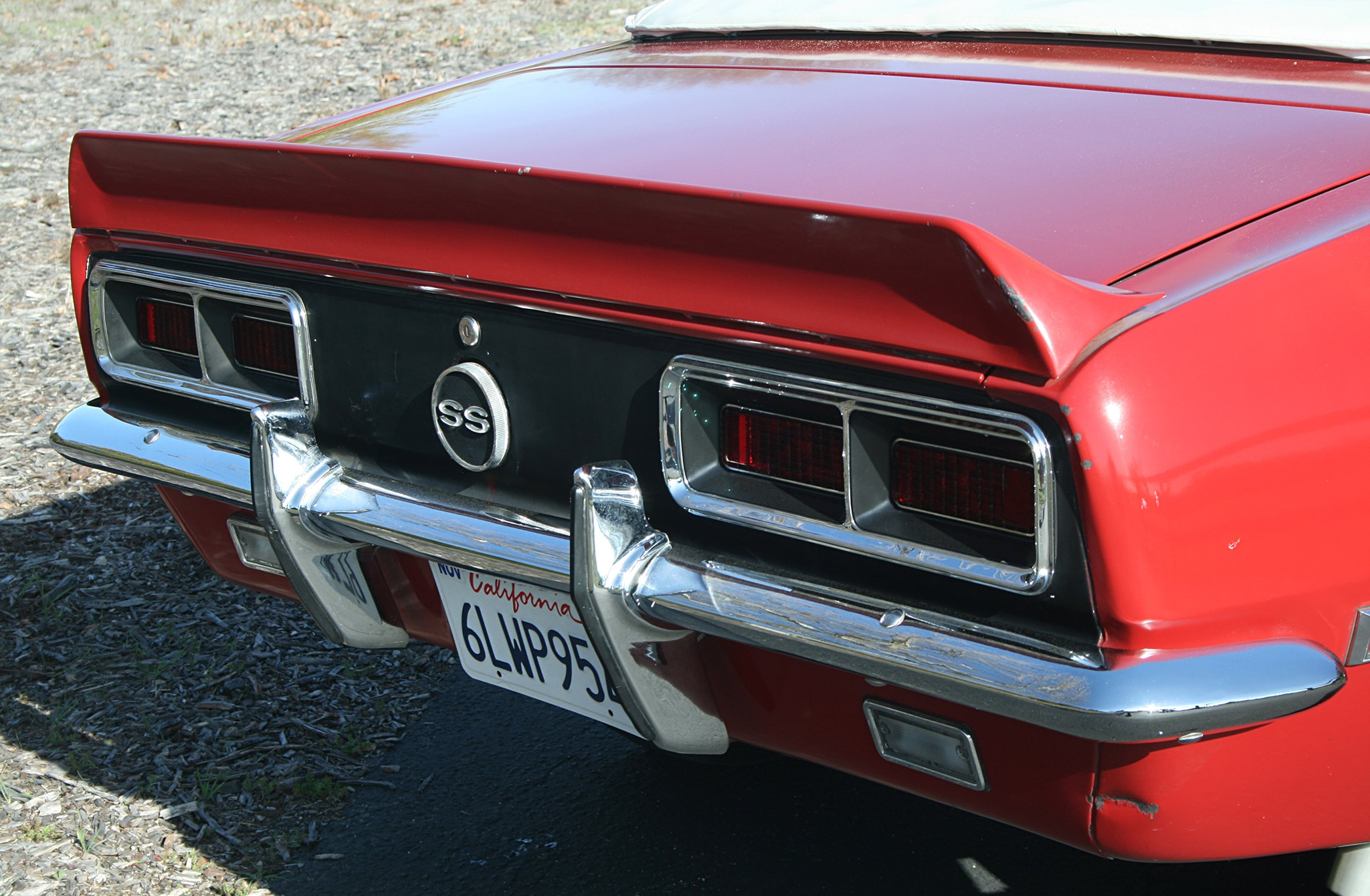 1968 Chevrolet Camaro Ss Rear Taillights