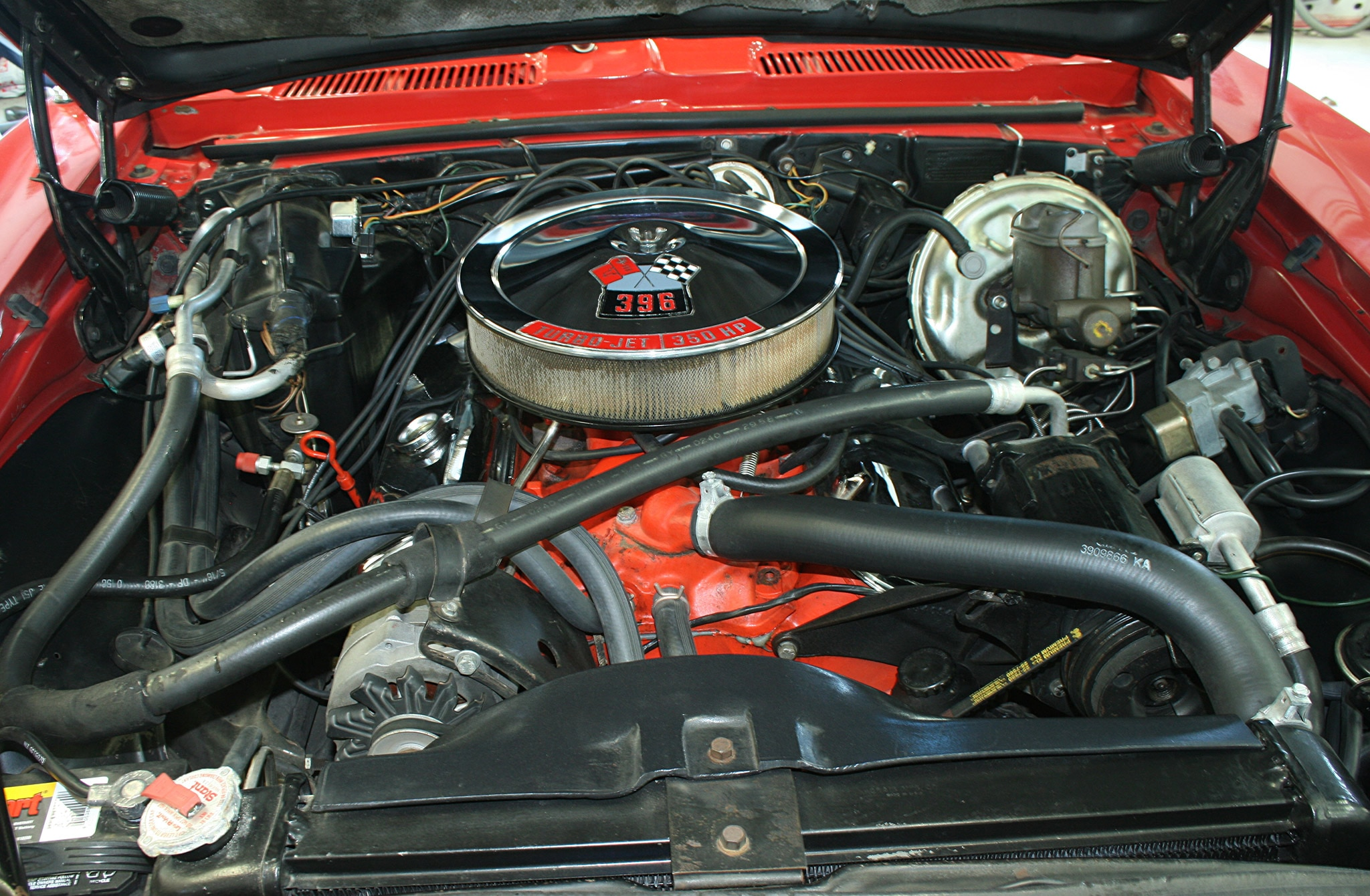 1968 Chevrolet Camaro Ss Turbo Jet Engine