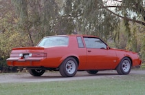 1983 Buick Grand National Red Prototype Rear