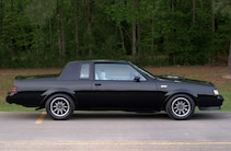 1984 Buick Grand National Black Side