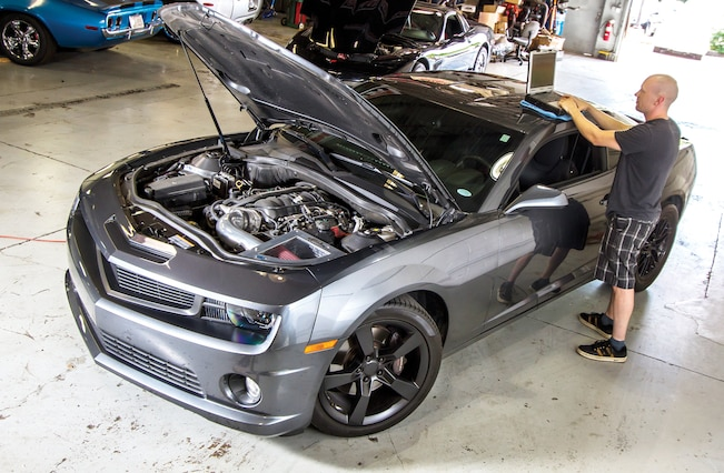 2010 Chevrolet Camaro Ss Engine