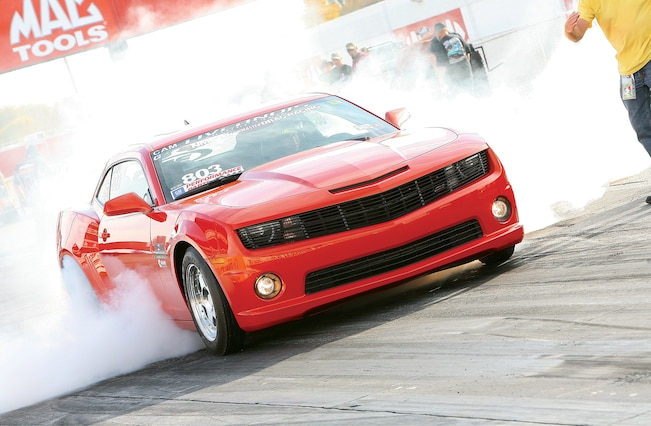 2010 Chevrolet Camaro Ss Calabrese Front Burnout