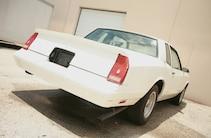 1987 Chevy Monte Carlo Ss Rear