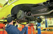 1957 Chevy Bel Air Rear Suspension Install
