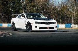 2012 Chevrolet Camaro SS - White Monster