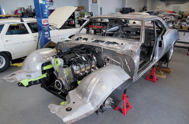 1969 Chevrolet Camaro Build