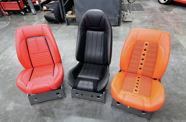 1967 Chevrolet Camaro Bucket Seats Kits