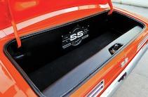 1968 Chevrolet Camaro Orange Trunk