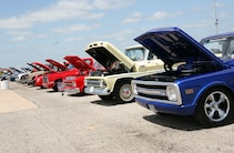 Super Chevy Show Ennis Pickups