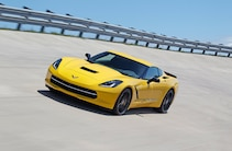 2015 Chevrolet Corvette Front Yellow