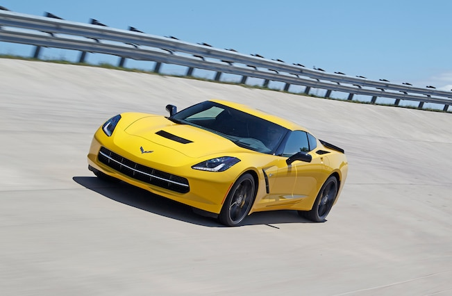 2015 Chevrolet Corvette Front Yellow