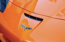2007 Chevrolet Corvette Racing Flag