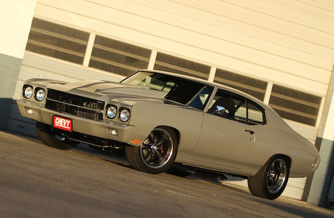 1970 Chevrolet Chevelle Side