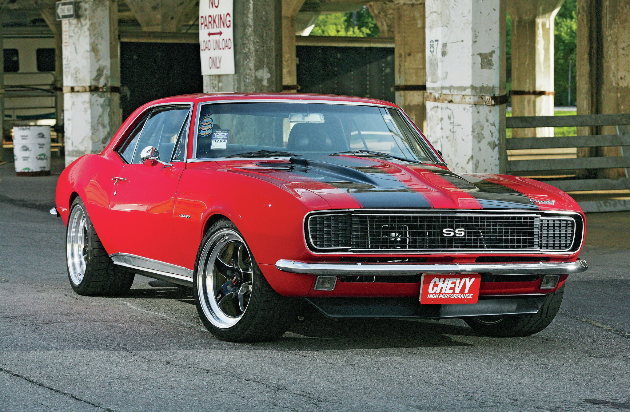 1967 Chevrolet Camaro Ss Old Red