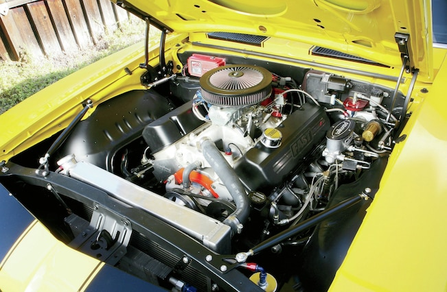 1969 Chevrolet Camaro Engine Bay