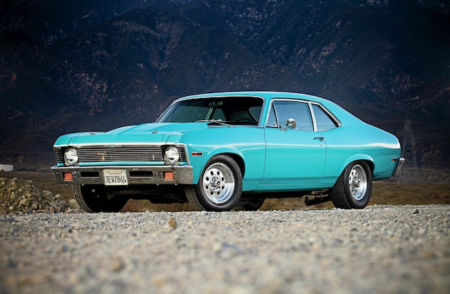 1971 Chevrolet Nova Front Side View