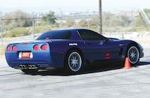 Chevy Corvette Blue