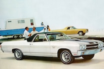 1970 Chevrolet El Camino Ss Front Angle