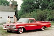 1959 Chevrolet El Camino Front Angle