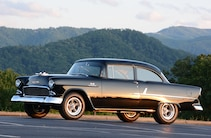 1955 Chevrolet Bel Air Drivers Side View