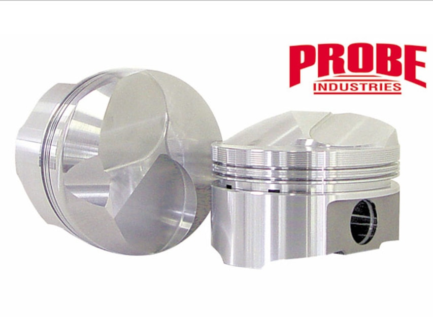 New Chevy 454, 585 Gram Hollow Dome Forged Pistons