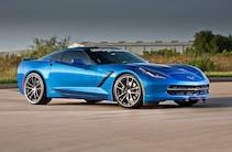 2014 Chevrolet Corvette Stingray Side Quarter View