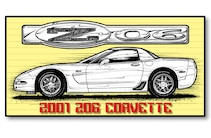 2001 Corvette Side View