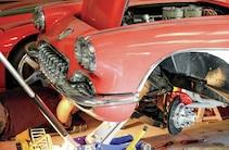 1958 Chevrolet Corvette Front View