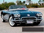 1958 Chevrolet Corvette Convertible - A New Shape of Sophistication