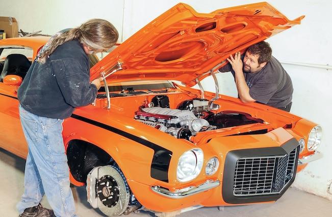 1971 Chevolet Camaro Project Orange Krate