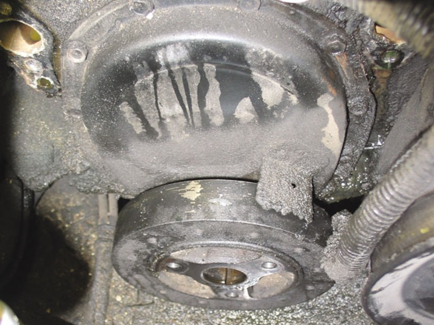 Fixing Your Leaky Timing Chain Cover - Tech Article - Chevy High