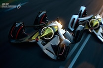 2014 Chevrolet Chaparral 2X Vision Gran Turismo Concept Front End In Motion