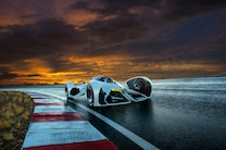 2014 Chevrolet Chaparral 2X Vision Gran Turismo Concept Front End Turn